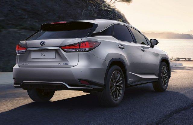 Sportos különkiadást kap a Lexus RX