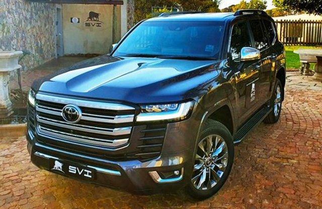 Dél-Afrikában már fejlesztik a páncélozott új Land Cruisert