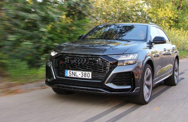 Fegyverviselési engedély kéne hozzá – Audi RS Q8