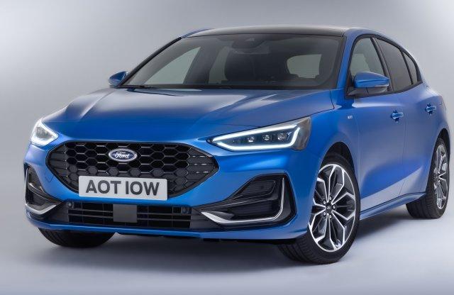 Új arcot kapott a Ford Focus