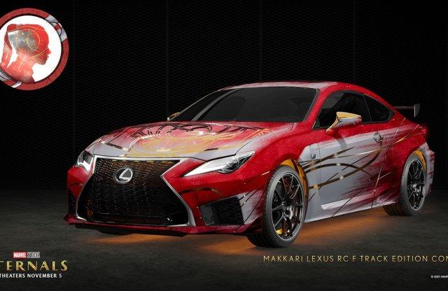Szuperhősösre színezte modelljeit a Lexus