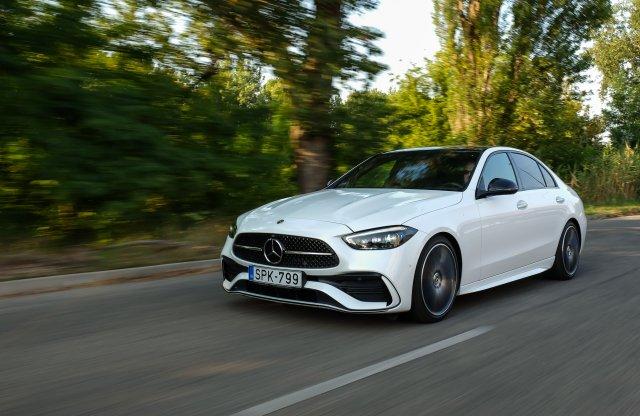 Menőségérzet – Mercedes-Benz C 300 teszt