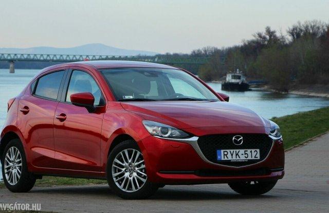 A Mazda2 az egyik legzöldebb benzines a Green NCAP szerint