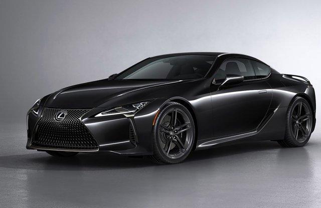 A Halloween szellemében érkezik a Lexus LC legújabb limitált szériája