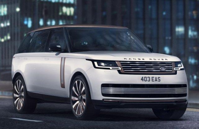 BMW motort is kap a Range Rover 5. generációja